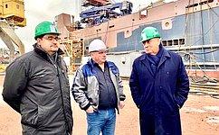 С. Митин провел рабочие совещания построительству судов рыбопромыслового флота