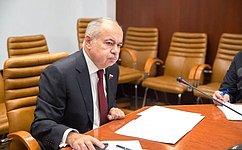 ВСовете Федерации состоялось совещание, посвященное вопросам организации хаджа российских мусульман