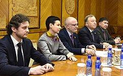 Делегация СФ встретилась счленами Постоянного комитета Великого Государственного Хурала Монголии погосударственному устройству