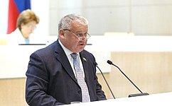 Сенаторы одобрили изменения взакон обиспользовании атомной энергии