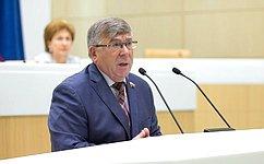 Сенаторы впорядке законодательной инициативы внесли вГосударственную Думу законопроект обизменениях вФЗ «Обосновах охраны здоровья граждан»