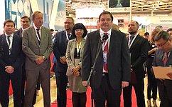 И.Фомин: Количество российских регионов-участников Международной выставки «Отдых» ежегодно увеличивается