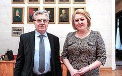 Законодатели иученые обсудят развитие кадрового потенциала страны— Л.Гумерова