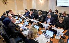 З. Драгункина: Вопросы культуры, защиты интересов семьи идетей находятся напостоянном контроле усенаторов