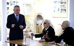 В. Бекетов: Встречи светеранами— это разговор трех поколений омире