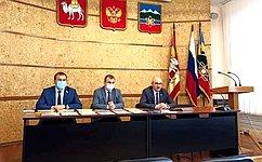 О. Цепкин посетил ряд социальных учреждений Челябинской области