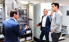 Владимир Кравченко обсудил достижения ипроблемы инновационной сферы вг. Томске напримере ООО «Элком +»