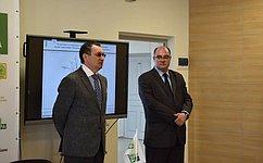 Н. Федоров посетил Чувашский государственный аграрный университет