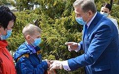 С. Лукин поддержал акцию #ПомогиУчитьсяДома