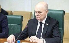 Сенаторы обсудили готовность кпроведению весенних полевых работ