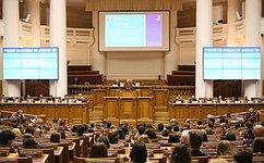 Под эгидой МПА СНГ вСанкт-Петербурге прошла конференция, посвященная Международному дню демократии