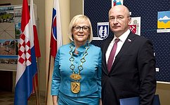 О. Цепкин софициальным визитом посетил Словацкую Республику
