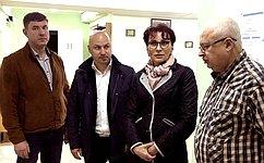 Т. Кусайко посетила медицинские учреждения Кандалакшского района Мурманской области