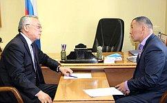 Б. Жамсуев обсудил меры поддержки спортсменов вЗабайкалье