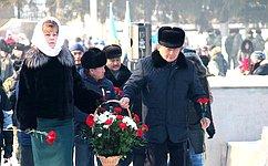 Т. Гигель: Необходимо пронести через года память оподвиге наших солдат-освободителей