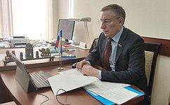 А. Варфоломеев: Палата молодых законодателей при СФ активно подключится кработе над поправками кзаконопроекту омолодежной политике