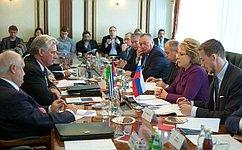 В.Матвиенко: Россия окажет помощь вреставрации гаванского Капитолия, вкотором разместится кубинский парламент