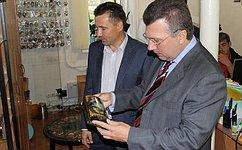 В. Васильев: Совет Федерации уделяет особое внимание вопросам развития российских промыслов иремесел