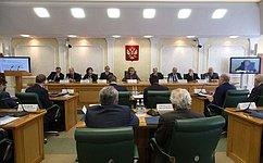 Участники Научно-экспертного совета при Председателе СФ обсудили роль Совета Федерации врешении задач внутренней ивнешней политики государства