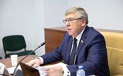 Развитие социальной испортивной инфраструктур вУдмуртской Республики обсудили назаседании профильного Комитета СФ