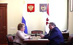 Жители Мордовии проделали большую работу поподготовке кЧМ-2018— В.Матвиенко