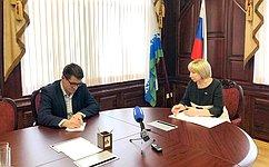 Важно, чтобы все запланированные врамках нацпроектов мероприятия вНАО были исполнены— Р.Галушина