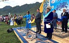 В.Полетаев: ВРеспублике Алтай много делается для развития социальной инфраструктуры региона итуризма