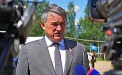 Ю.Воробьев выступил наоткрытии Всероссийского военно-исторического лагеря «Бородино-2017»