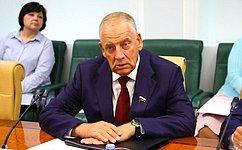 С. Митин представил отчет оработе Временной комиссии повопросам законодательного обеспечения развития технико-технологической базы АПК