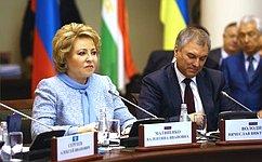 Единогласное принятие модельных законов говорит окачественной работе профильных комиссий МПА СНГ— В.Матвиенко