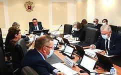 Комитет СФ поРегламенту иорганизации парламентской деятельности обсудил проект изменений взаконы озерне иоразвитии сельского хозяйства