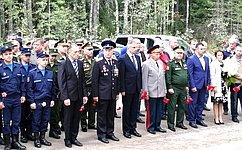 А.Ракитин: Имена красноармейцев, погибших входе советско-финской войны, навечно высечены наплитах мемориала вКарелии
