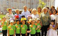 Благодаря труду талантливых педагогов вПодмосковье создана качественная система дошкольного образования— Л.Антонова