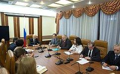 М.Щетинин: Сенаторы возьмут наособый контроль своевременное предоставление господдержки впреддверии посевной