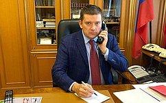 Н. Журавлев: Идет активная работа поподготовке российско-таджикистанского межпарламентского форума