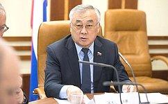 Проводится постоянный мониторинг исполнения Постановления СФ огосударственной поддержке развития Забайкалья—Б.Жамсуев