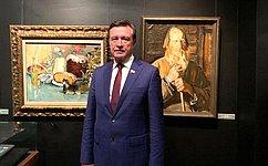 Сергей Рябухин посетил Академию акварели иизящных искусств Сергея Андрияки