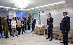 ВСовете Федерации открылась фотовыставка к100-летию Финансовой академии при Правительстве РФ