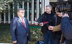 В. Джабаров: Основная задача миссии СФ вКрыму— наблюдать заподготовкой иходом проведения референдума