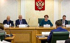 Организацию системы нотариата иформирования стоимости нотариальных услуг обсудили вСовете Федерации