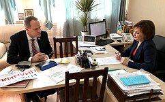 А.Башкин посетил астраханское отделение Национальной родительской ассоциации