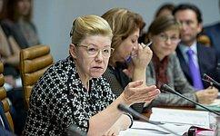 Е. Мизулина: Система родовспоможения вОмской области вызывает беспокойство