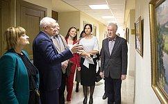 ВСовете Федерации открылась выставка, посвященная 80-летнему юбилею Союза художников Республики Татарстан
