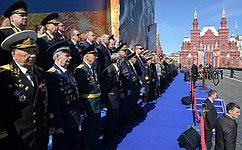 Ю. Воробьев принял участие вмероприятиях, посвященных празднованию годовщины Победы вВеликой Отечественной войне