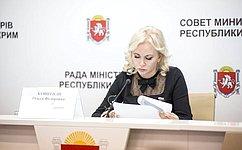 Сенатор ответила крымчанам навопросы, касающиеся сельскохозяйственной отрасли издравоохранения