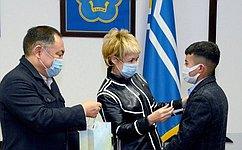ВТуве наградили детей-героев медалью Совета Федерации «Запроявленное мужество»