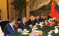 И.Умаханов: Межпарламентские связи играют большую роль вразвитии российско-китайских отношений