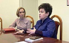 М. Львова-Белова посетила Российскую детскую клиническую больницу