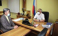 Б. Жамсуев обсудил сжителями Забайкалья вопросы подготовки фестиваля «Алтаргана», развития учреждений культуры испорта