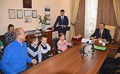 С. Лукин: Поддержка многодетных семей должна оставаться вчисле государственных приоритетов